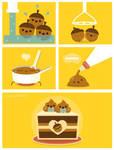 How to Make Acorn Dessert by RoseyCheekes