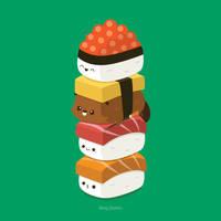 Beaver Stack by RoseyCheekes