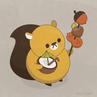 Mr. Squirrel by RoseyCheekes