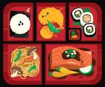 Bento Box by RoseyCheekes