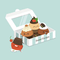 Escape Artist Mr. Cupcake by RoseyCheekes