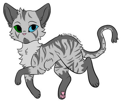 Cat adopt AUCTION! 3 (Open) by KittyHawk456