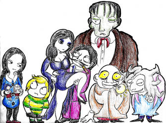 The Addams Family (1992 animated series) by Yorisoi