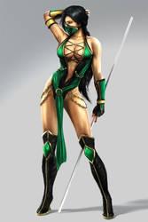 Temptress in Green by Kizami3