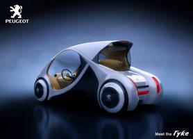 Peugeot Tyke - Back by drewbrand