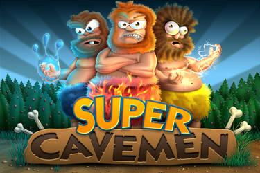 Supercavemen Splashscreen by drewbrand