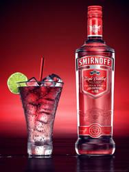 Liquor Rainbow Series: Smirnoff by drewbrand