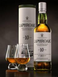 Scotch - Laphroaig 10 by drewbrand