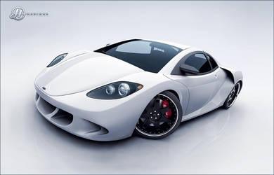 Azureus Supercar - White by drewbrand