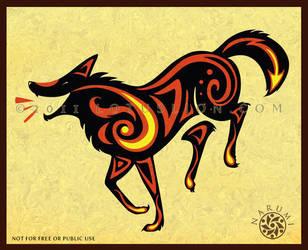 Fire Dog Dance by Naryu
