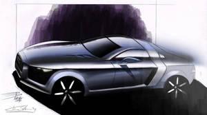 Audi render by schoondesign