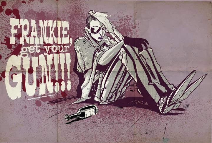 Frankie, GET YOUR GUN promo by Robbi462