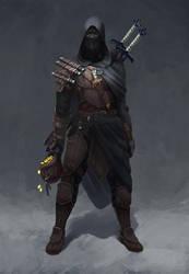 Mask, God of Thieves by VladOgorodnyk