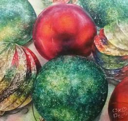 Christmas Textures by SiriuslyArt