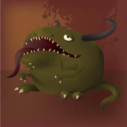 Mr. Grumblemoo Vector by pinkiesheepie