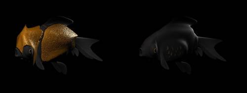 Battle Fish by pinkiesheepie