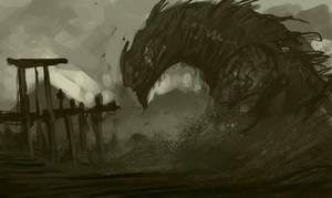 Desert creature SP by SHadoW-Net