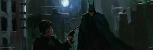 Batman by SHadoW-Net