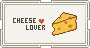 [F2U] Cheese Lover Stamp by Risyoka