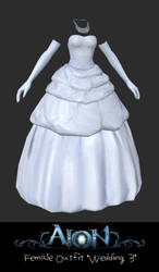 AION Female Outfit Wedding Style 3 by xCrofty