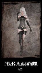 NieR: Automata: A2 by xCrofty