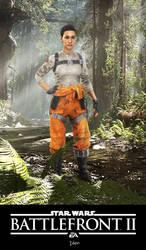 Star Wars Battlefront II: Iden by xCrofty