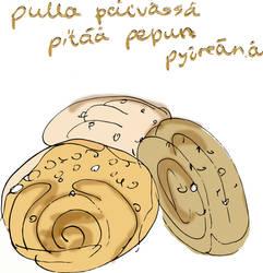 Finnish pastry by dracoenator