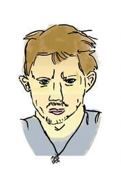 Chad Lindberg illustration by dracoenator