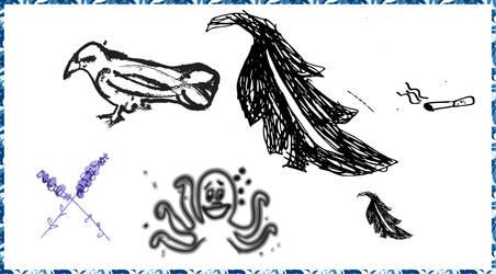 Doodledings by dracoenator