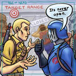 Age of Nerd - G.I. Joe at the Target Range by RockyDavies