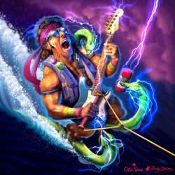 Old Spice - Steel Courage Warrior by RockyDavies