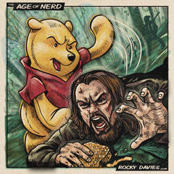 The Revenant Bear Attack by RockyDavies