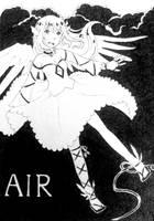 Inktober 2018 - Air (6) by YumeNeko696
