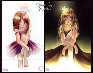 [OC] Draw This Again | Haruka by YumeNeko696