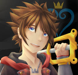 [FanArt] Sora | Kingdom Hearts III by YumeNeko696
