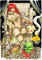 Red Sonja by Medsonlima