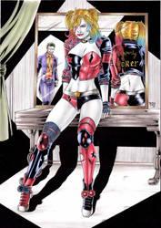 Harley Quinn by Medsonlima