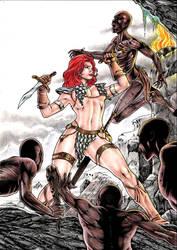 Red Sonja by Medsonlima