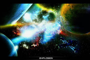 Space Eplosion by Vykis