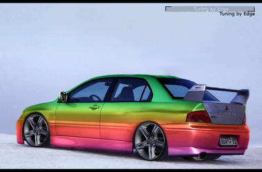 Car tuning by Vykis