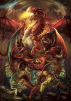 Red Dragons by Yogh-Art