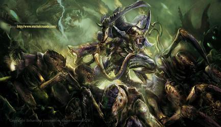 Eternal Crusade by Yogh-Art