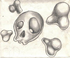 Skull by ZodiacWolfen