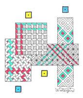 Grid of Streets by W4t3rf1r3