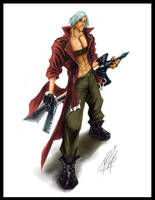 DANTE-Devil-May-Cry by tedkeys
