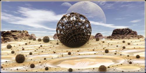 Alien Tumbleweeds by Len1