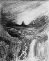 The Weeping Mountain by quintvc