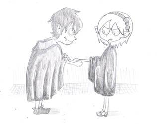 The Little Vampire in Love by ichadoggi