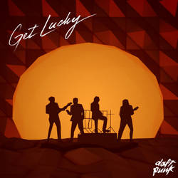 Low Poly Illustration : Daft Punk - Get Lucky by kautsar211086