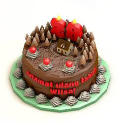 Happy Birthday To Her by kautsar211086